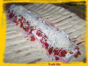 brioche poivrons, jambon , fromage (1)