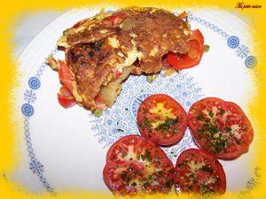 Tortilla andalouse 3