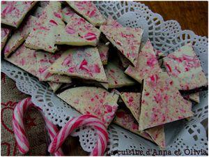 candy bark peppermint