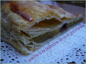 galette pistach griottines