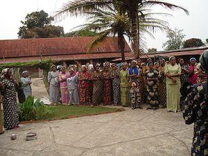 Maison des Sorurs de St François d'Assise de Tshumbe