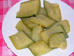 courgette froide