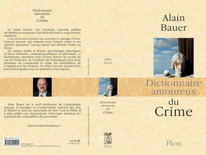 ALAIN BAUER'S NEW BOOK