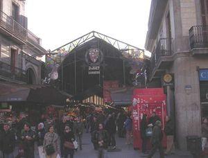 barcelone 139 rambla mercat la boqueria