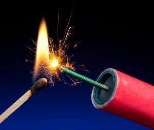 dynamite-lit-match