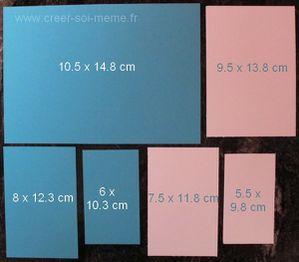 carte 3 niveaux tampons