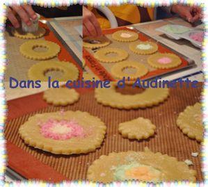 Sablés décorés avec du bonbon (Recette française) 3