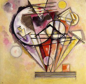 Kandinsky - Sur pointes 1928610
