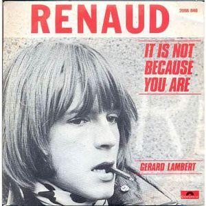 Renaud photo