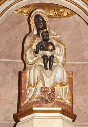 Vierge noire St Romain d'Ay
