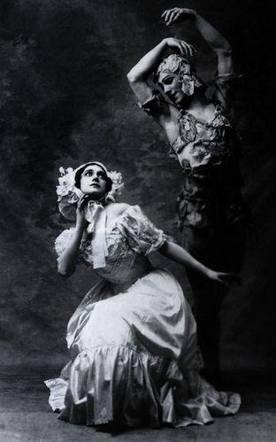 Spectre de la rose karsavina and nijinsky 1911