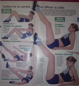 ventre-taille Gym