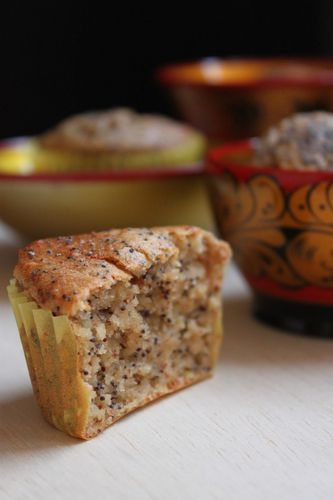 muffins russes pommes pavot