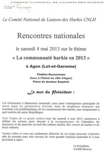Rencontres nationales 1