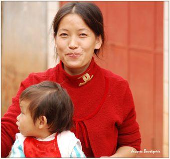 jeune maman et son enfant