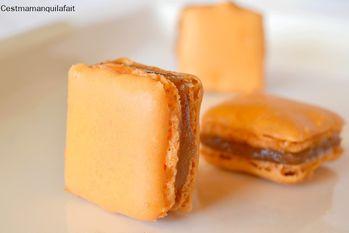 macaron a la ganache de foie gras (2)