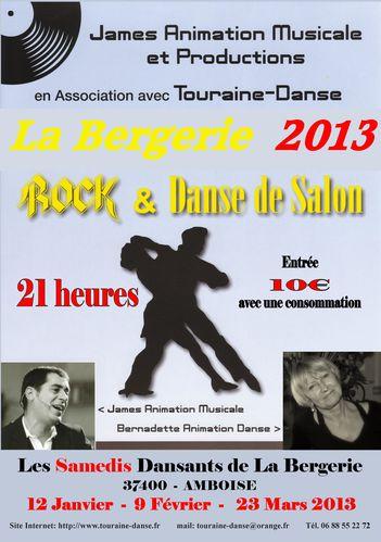 2013-01-02-03 - LA BERGERIE SOIREES JANVIER FEVRIER MARS 20