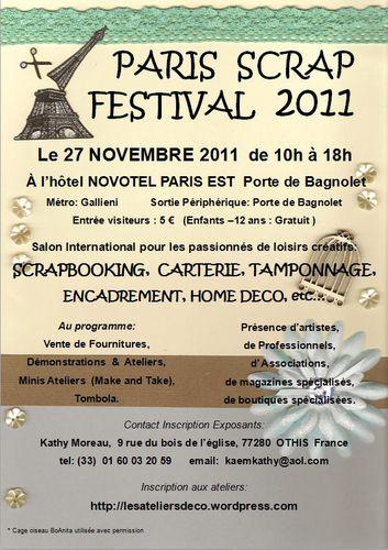 Scrapfestival affiiche 11 2011