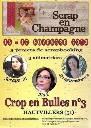 affiche scrap en champagne