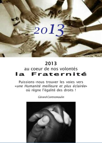 Voeux 2013.