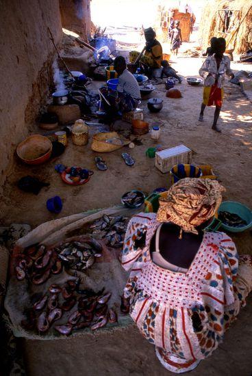 55-Mopti - Mali - Village Bozo