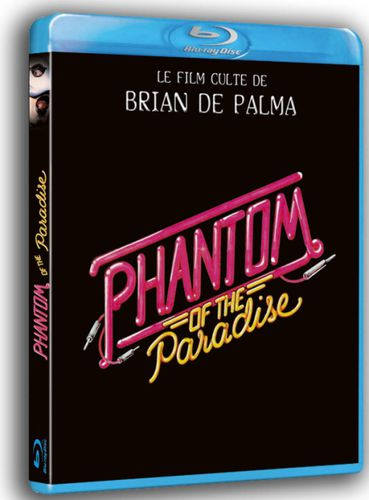 [blu-ray]Phantom of the paradise : folie furieuse & démesure kitsch