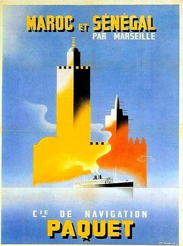 affiche du maroc ancien temps