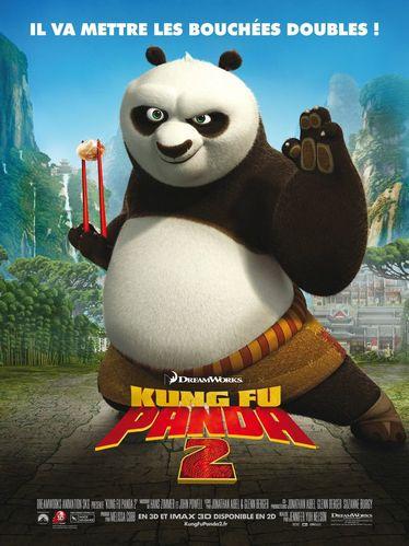 Kung Fu Panda 2 L affiche francaise
