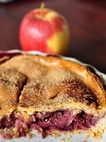 Tarte pommes mûres (2)