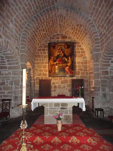 Eglise de Cheylade (2)