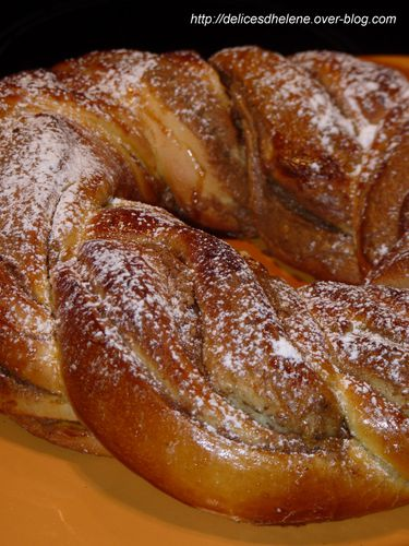 kringle à la pâte de noisette (1)
