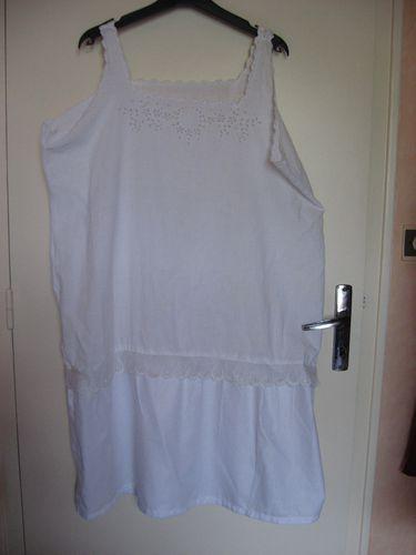 2 robes faites avec des tops 012
