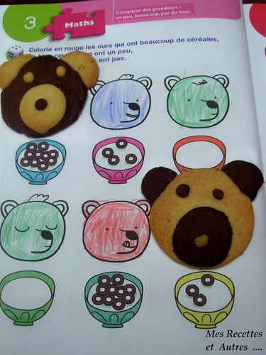 biscuit teddy bear #