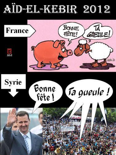 Aïd France Syrie