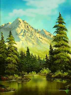 Bob Ross - The Joy of Painting - Valley View