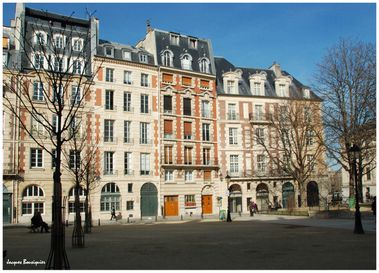Paris Place Dauphine 2