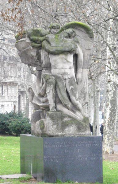monument aux soldats polonais mort pour la France