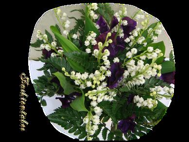 bouquet muguet pois de senteur