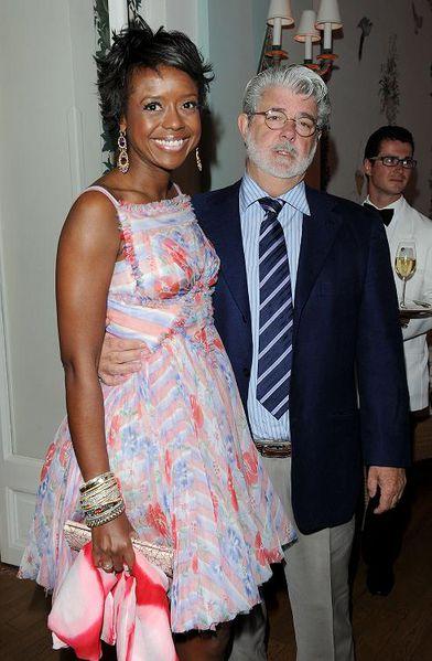 George Lucas & sa compagne
