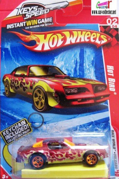 pontiac-hot-bird- keychain hot wheels 2010.210 porte cles h
