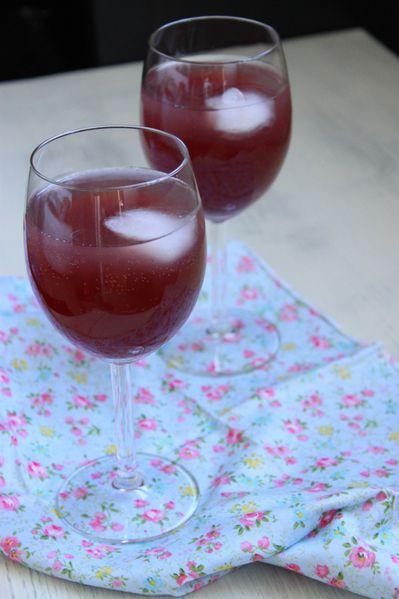 Cocktail myrtille citron 2