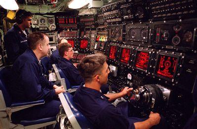 USS Seawolf Control Room