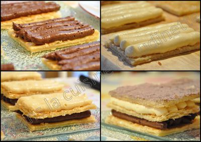 mille feuille passion choco 1