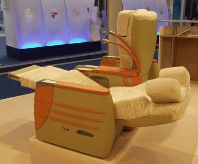 Prototype siège cuir & tissu