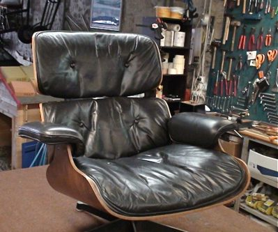 Eames 670 avant réfection
