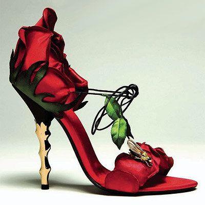 escarpin rose