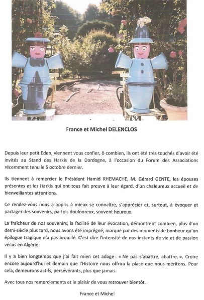 Lettre de Mr Delenclos Michel 001