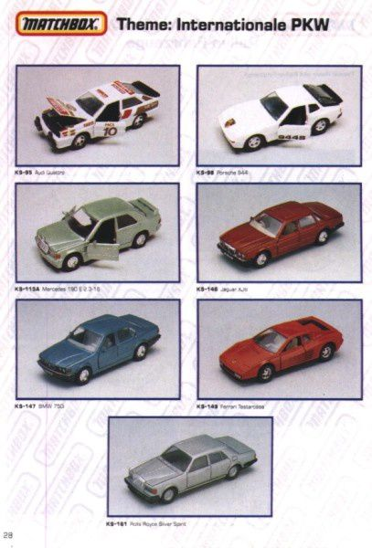 catalogue matchbox 1991 m26