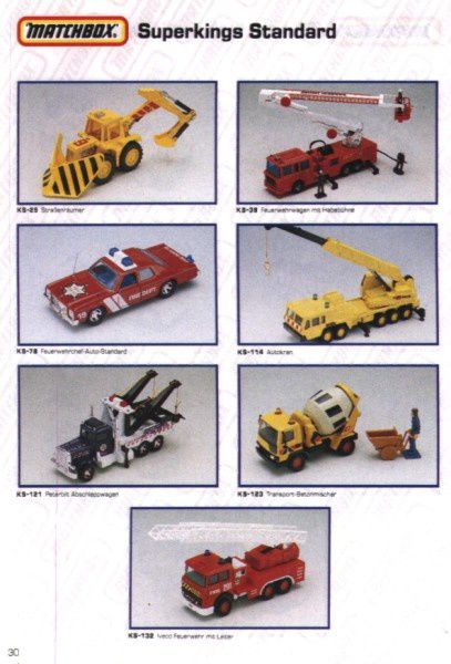 catalogue matchbox 1991 m28