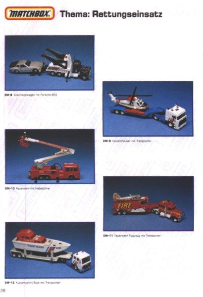 catalogue matchbox 1991 m24